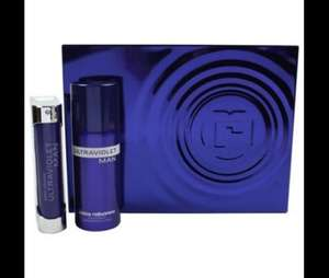 Paco Rabanne Ultraviolet Men Gift Set £31.33 @ tesco
