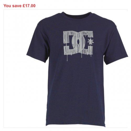 Mens DC CLOTHING BETTER THAN HALF PRICE £7.99 @ mandmdirect