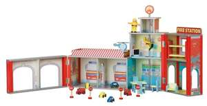 Plum Ingham Wooden Fire Station £37.50 delievered on Amazon. RRP £119.99!