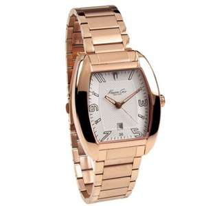 Kenneth Cole Rose Gold Plated watch reduced from £115 to £35 (70% off) @ chapelle