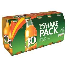 J20 10 pack £4  or 3 packs of 10 for £10 at Asda