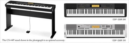 Casio CDP 230R BK Digital Piano £359.99 (inc VAT) INSTORE at Costco
