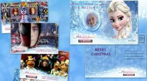 FREE Personalised Photo Christmas e-Cards @ Sky Movie Me