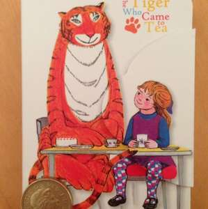 Tiger who came to tea magnetic mini diary 39p Home Bargains