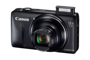 Canon PowerShot SX600 HS Compact Camera -  16MP, 18x Optical Zoom, WiFi, NFC. Sold by Amazon (select amazon from right hand menu to get this price- BUT 1-2 month dispatch time). £99 @ Amazon