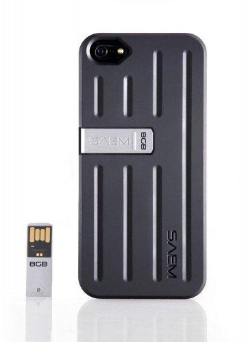 Veho iPhone 5/5S SAEM S7 Case with 8GB Integrated USB Memory Drive - Black £3.99 @ Ebay/homeandgardenltd