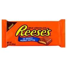 Hersheys Reeses Giant Peanut Butter Cup Bar 192G £1.50 at Tesco (was £3.00)