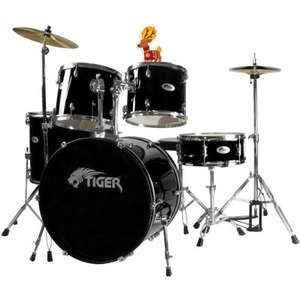 Tiger Full Size Beginner Drum Kit £179.99 at Amazon
