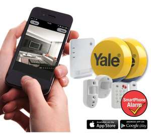YALE Easy Fit Smartphone Alarm Kit - Kit 3 £404.99 delivered at Currys code 10%CCTV