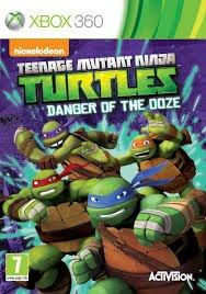 Xbox 360 Teenage Mutant Ninja Turtles Danger of the Ooze @ Tesco £16
