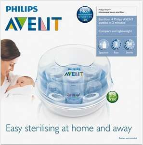 Phillips AVENT microwave steriliser £2.99 B&M Bargains