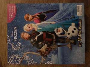 frozen busy book *home bargains* £3.99
