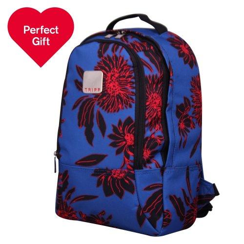 80% OFF - Tripp Chrysanthemum Backpack (Summer Blue/Black) - £10.00 @ Debenhams