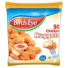 50 Birds Eye Chicken Nuggets now only  £3 @ iceland