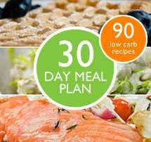 Free 30 day low carb cookbook and meal plan from diabetes.co.uk