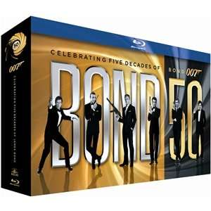 James Bond Blu Ray Collection £40 @ play / FoxDirect