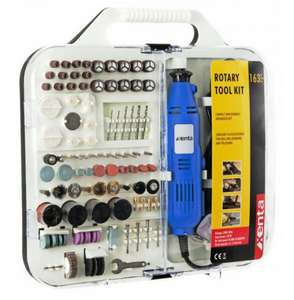 Xenta 163 Piece Rotary Tool and Accessory Kit £14.99 Delivered @ Ebuyer