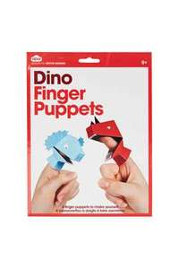 Topshop Dino finger puppets 50p