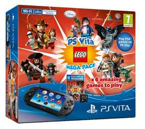 PS Vita Lego Mega bundle 8gb card & Minecraft Physical Copy @ Argos for £139.99