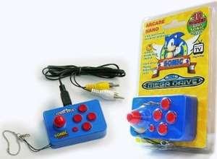 Sega Megadrive Nano Games Console @ Argos - Half Price £7.49