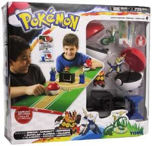 Tomy Pokemon Catch 'N' Return Poke Ball Competition £9.99 at Home Bargain