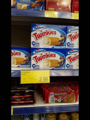 Twinkies £2.99 box of 10 @ B&M