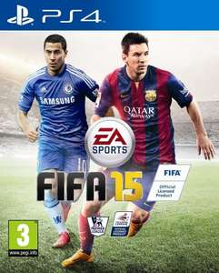 FIFA 15 (PS4) £34.85 or £29.85 is using Mastercard @ Amazon