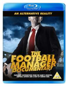 An Alternative Reality: The Football Manager Documentary (Blu Ray) £5.99 Delivered @ Game