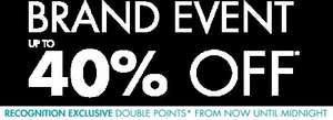 Up to 40%off 'Brand Event' @ Houseoffraser (free delivery on click and collect)