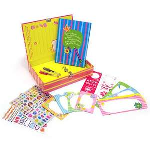 Crayola Creations Secret Diary and Keepsake Set  50%off- £8.50 @ thetoyshop.com