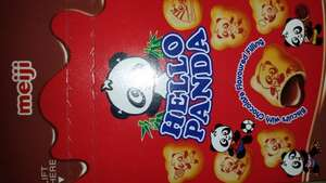Hello Panda Chocolate filled biscuits 4×25g for £1
