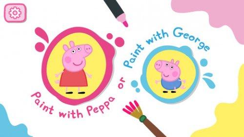 Peppa's Paintbox App