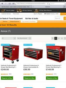 Halfords Professional Tool Chest Bundle Offer £249