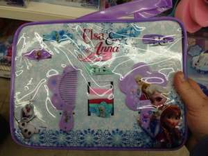 Frozen elsa and Anna hair set with bag £2.99 @ bargain buys