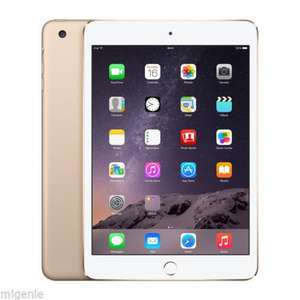(Gold Or Space Grey) Apple iPad Mini 3 Retina Display 16GB WiFi - £241.94 - eBay/Mi-Genie