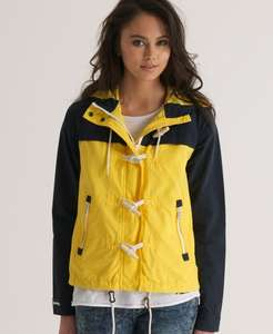 Womens Superdry Duffle Coat @ SuperdryEbayOutlet for £23.99 (Sizes 8 & 10 available)