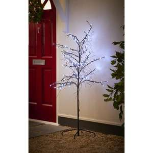 Wilko Pearl Twig Tree 5ft HALF PRICE £30