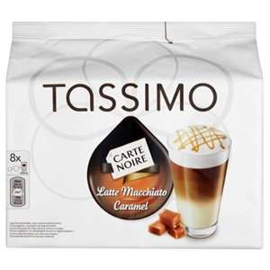 Tassimo Carte Noire Caramel Latte - 5 packs (40 drinks) £13.99 at Costco