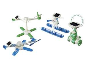 Kids Solar Power Toy- JAMARA 6-in-1 Solar Kit £4.99 Lidl