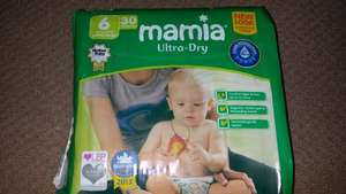 Mamia Size 6 nappies 30 pack Aldi - £3.49