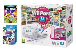 Wii U Basic Party Pack(Just Dance 2015,Sing Party U,Wii Party U,Nintendoland,Wiimote+) back in stock £179.99 @ Amazon UK