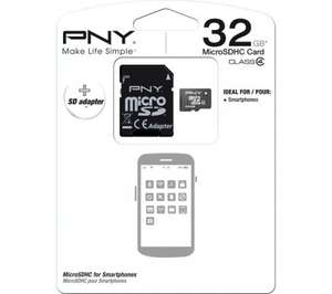 Was £24.99 NOW £9.99 32Gb Micro Sd Card @ Currys