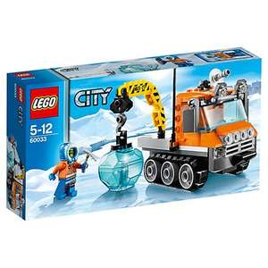 Lego City Arctic Ice Crawler (60033) Only £7 @ John Lewis  (Click and collect for free from any John Lewis or Waitrose store or £3 p&p)