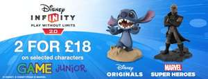 Disney Infinity 2.0 Characters 2 for £18 instore @ Game