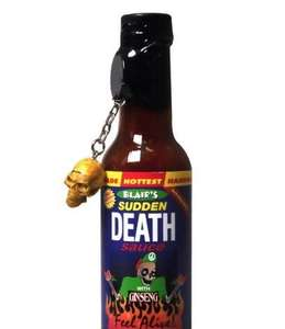 Sudden Death Sauce in Coffin - HOT!! £10.44 @ Amazon