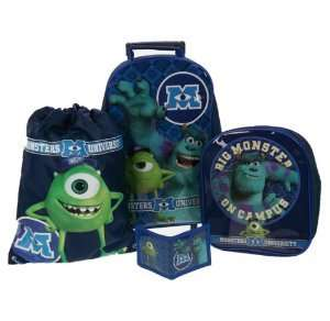 Monsters University Luggage Set by Monsters Inc University £10.99 delivered by no1 brands4you @ amazon