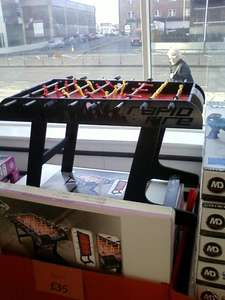 Hy-Pro 4ft Table Football Game at Asda Romford - £35