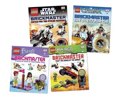Lego Brickmaster Star Wars/Friends/Chima/Ninjago £7.99 at ALDI