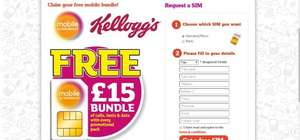 3 KELLOGGS CODES FOR SAINSBURY MOBILE - 1ST COME 1ST SERVED...