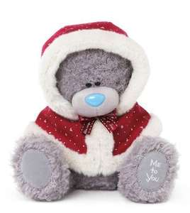 Tatty Teddy Me 2 You Bear Wearing a Christmas Cape £4.96 @ ToysRUS